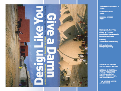 ARCHITECTURAL RESPONSES TO HUMANITARIAN CRISES_edited by AFH (2006)
